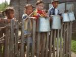Kinder in Patom