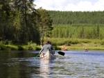Wasserwandern in Sibirien